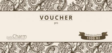 Voucher v hodnotě 1.000 Kč