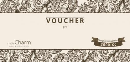 Voucher v hodnotě 2.000 Kč